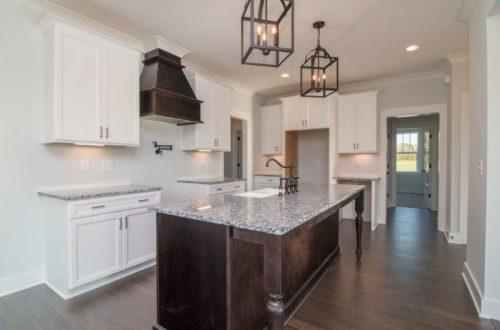 granite counter top in kitchen