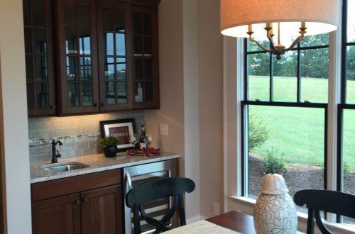 Winslow Homes custom kitchen table