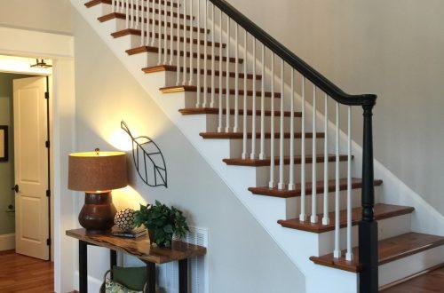 Winslow Homes custom staircase