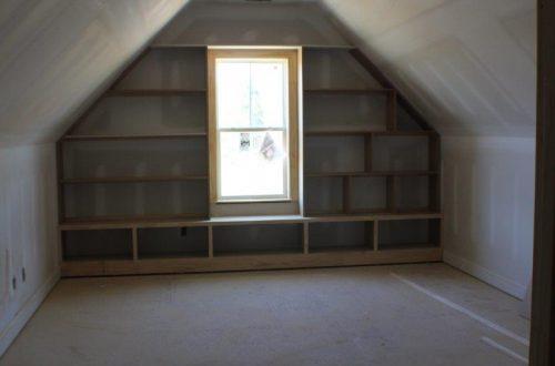 winslow homes attic