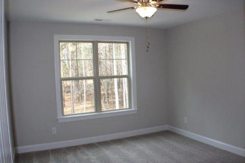 Winslow Homes empty room with window