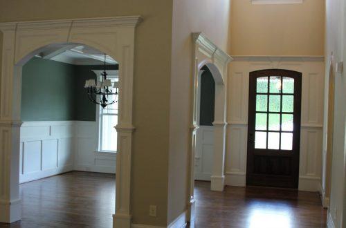 empty foyer
