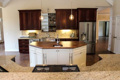 winslow homes custom kitchen