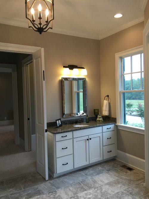 Winslow Homes custom master bath