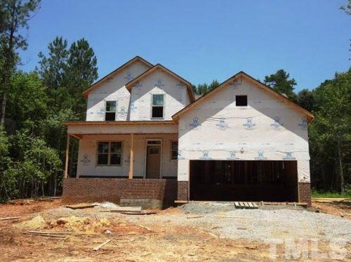 2129 Emerald Lane house being built