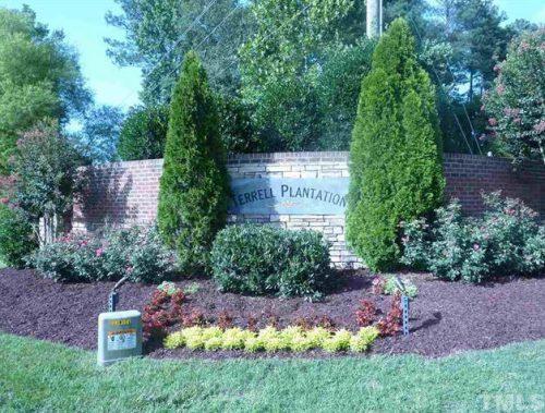 terrell plantation sign