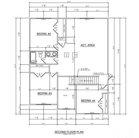 219 Terrell Drive FP 2nd floorplan