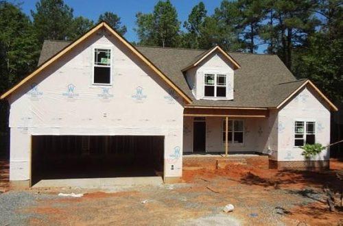 3697 Jade Lane house being built
