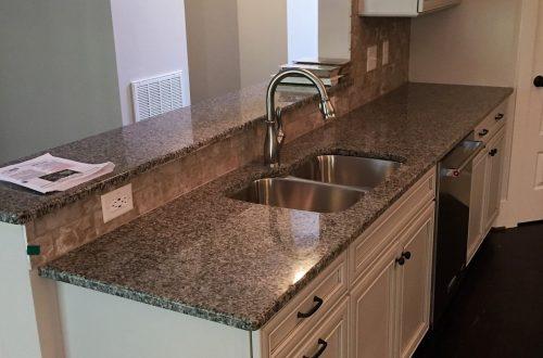 Winslow Homes custom kitchen sink