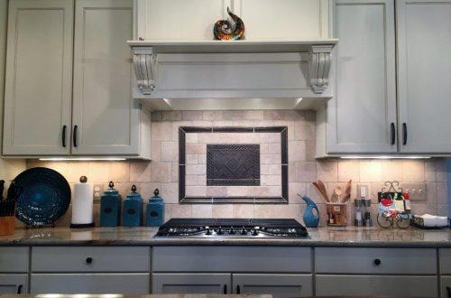 Winslow Homes Custom stove top