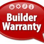 Builder Warranty speech bubble