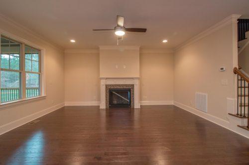 cvington ridge empty living room