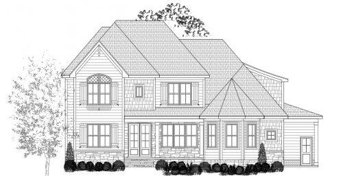 covington house sketch
