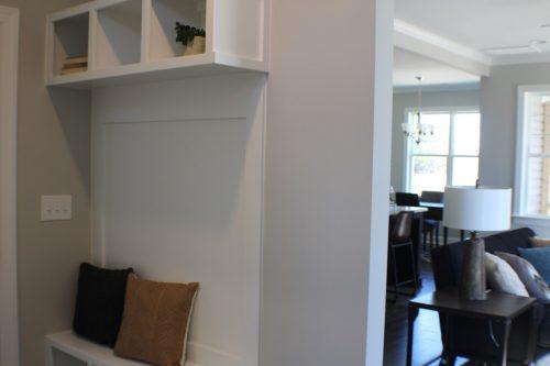 winslow homes custom hallway