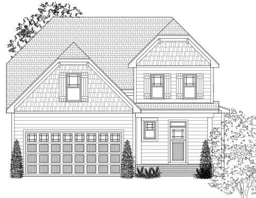 Nashville house sketch