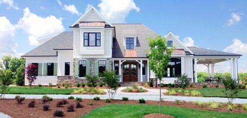 Winslow Homes custom modern house