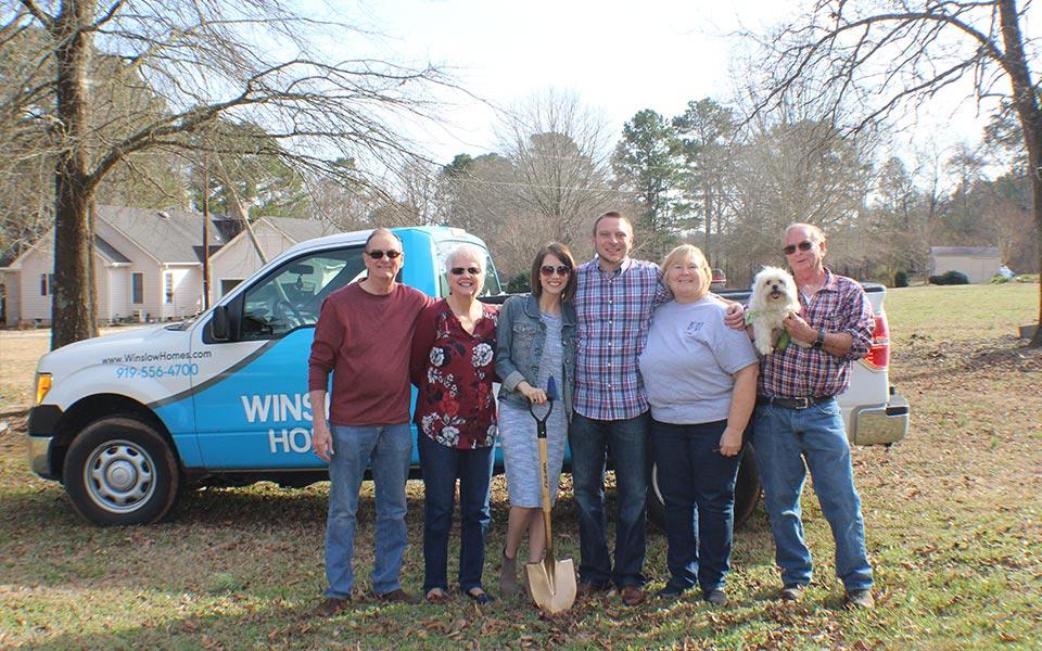 Winslow Home Testimonial Image