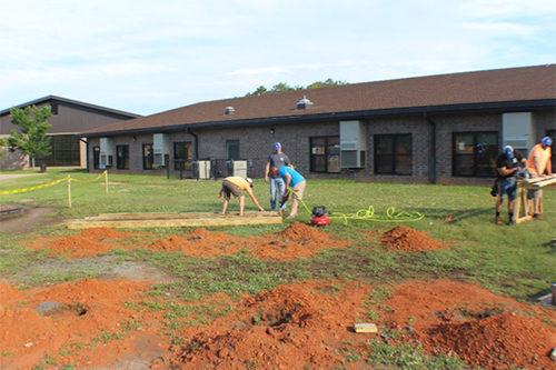 Franklin County Education Foundation - Long Mill Elementary School Pavilion Build