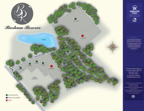 Barham Reserve Site Map